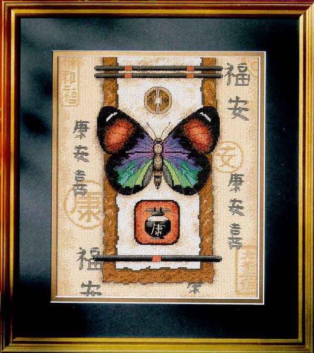 Oriental Butterfly (623x700, 128Kb)
