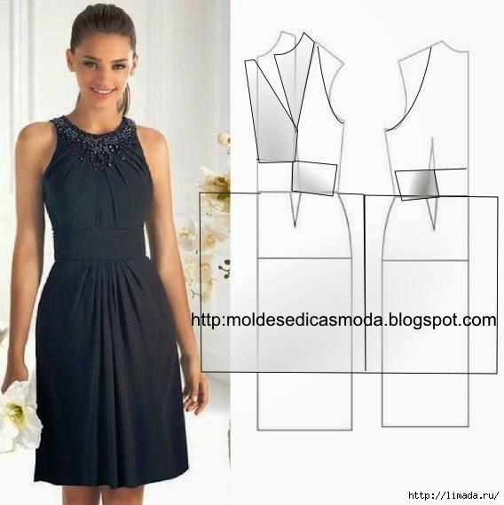 Шитье платьев с выкройками