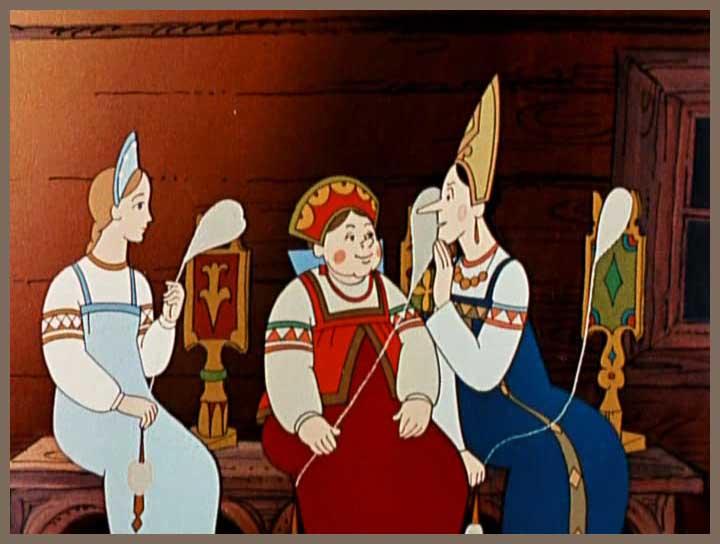 Переделки три девицы под окном