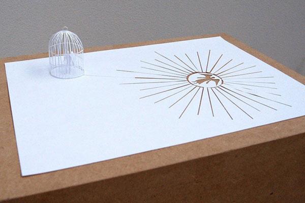 скульптуры из бумаги Питера Каллесена 6 (600x400, 140Kb)
