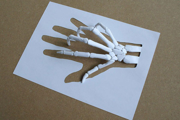 скульптуры из бумаги Питера Каллесена 12 (600x400, 133Kb)