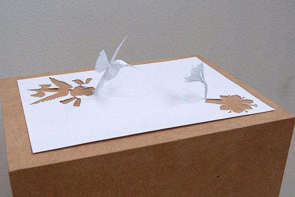 скульптуры из бумаги Питера Каллесена 15 (600x400, 131Kb)