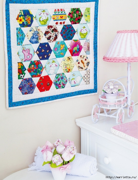 Лоскутное панно для детской комнаты (4) (538x700, 293Kb)