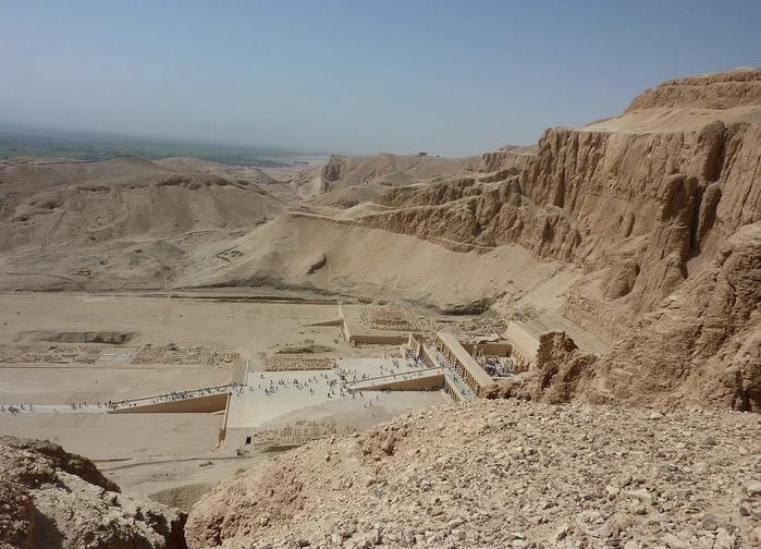 Храм царицы Хатшесуп египет фото 1 (700x504, 275Kb)