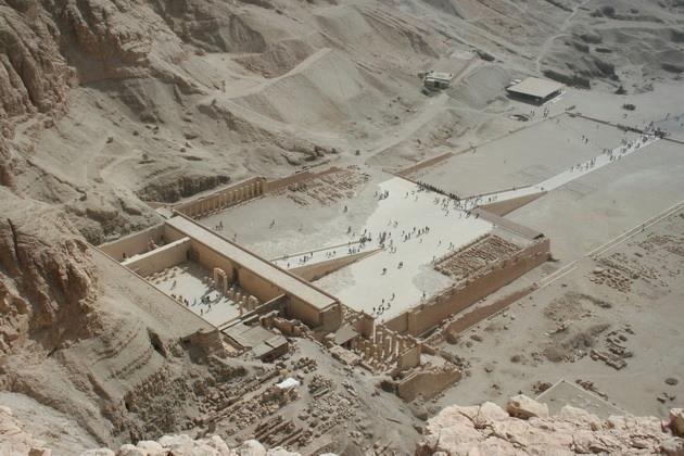 Храм царицы Хатшесуп египет фото 3 (630x420, 201Kb)