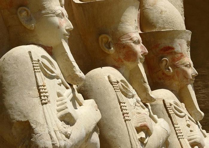 Храм царицы Хатшесуп египет фото 6 (700x497, 274Kb)