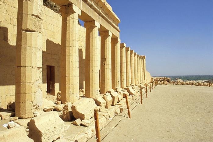 Храм царицы Хатшесуп египет фото 8 (700x466, 258Kb)