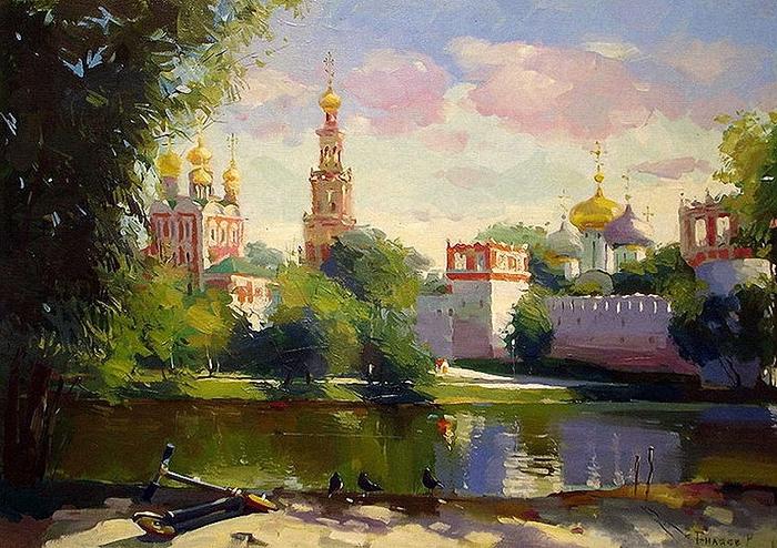 5107871_Bilyaev_Roman__Letnii_den__Novolevichii_monastir (700x494, 343Kb)