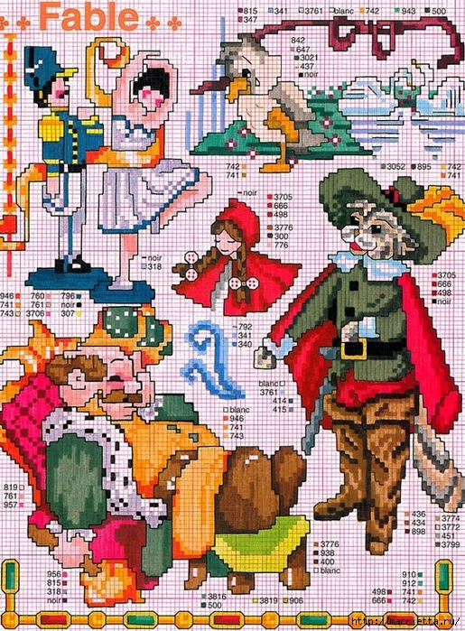 Схемы детской вышивки для украшения одежды (1) (515x700, 458Kb)