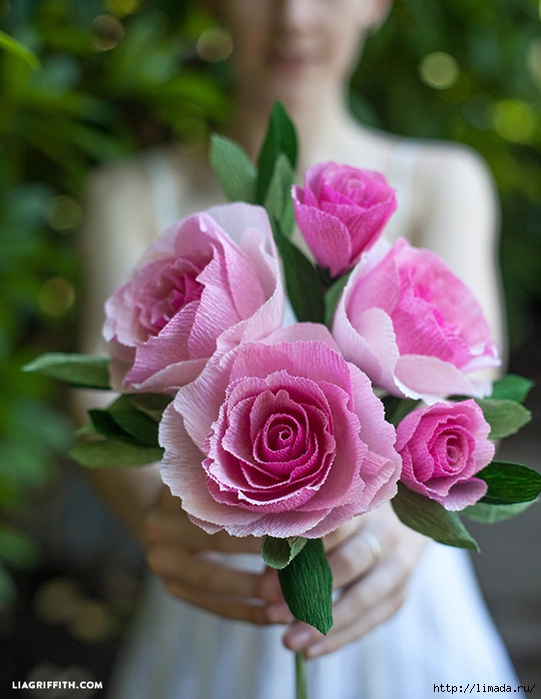 Crepe_Paper_Wedding_Roses (541x700, 268Kb)