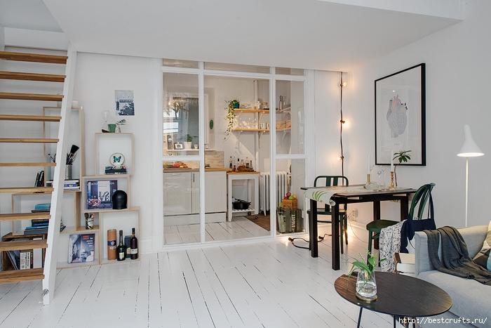 Идея планировки уютной квартиры (1) (700x467, 224Kb)
