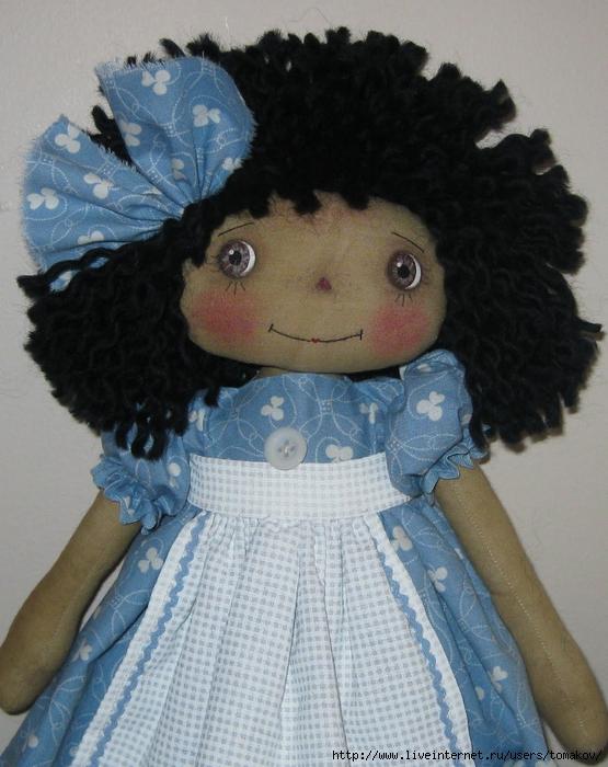 Все для текстильной куклы своими руками