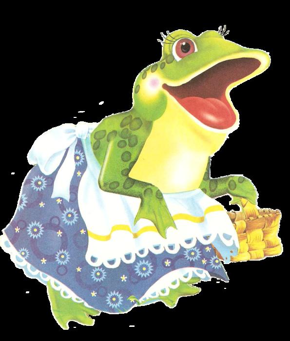лягушка из сказки теремок картинка