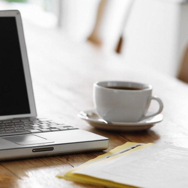 кофе компьютер фото