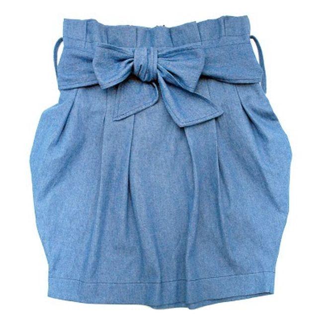 Как из джинс сшить юбку 49