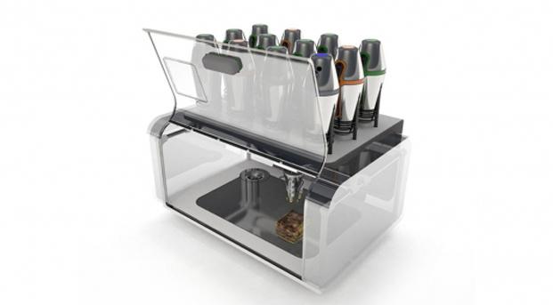 3D принтер для распечатки еды 2 (621x343, 104Kb)