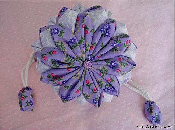Японская сумочка ОРИГАМИ. Фото мк (2) (575x427, 147Kb)