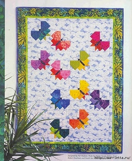 Лоскутные панно с бабочками (1) (445x540, 227Kb)
