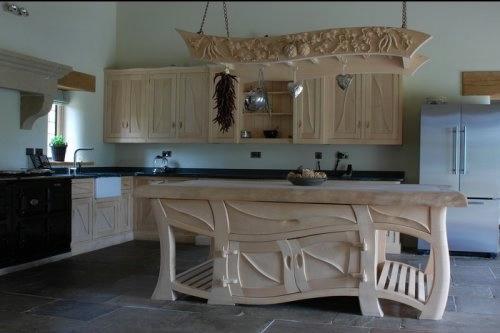 Кухни своими руками с фото в деревянном доме