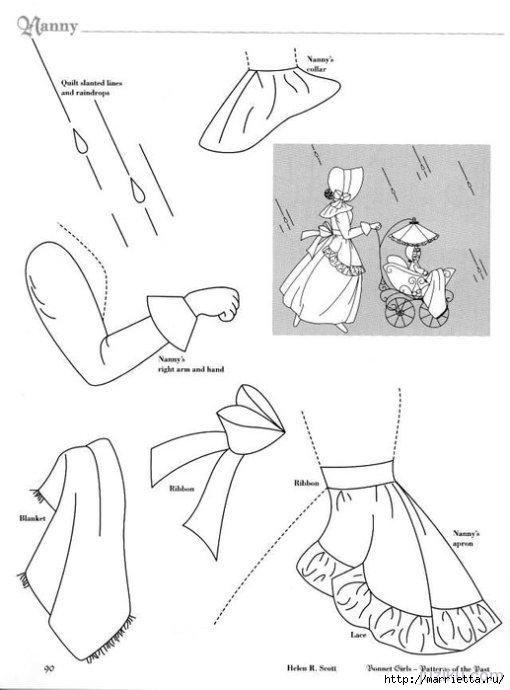 Лоскутное шитье. Журнал Bonnet Girls (4) (510x690, 109Kb)