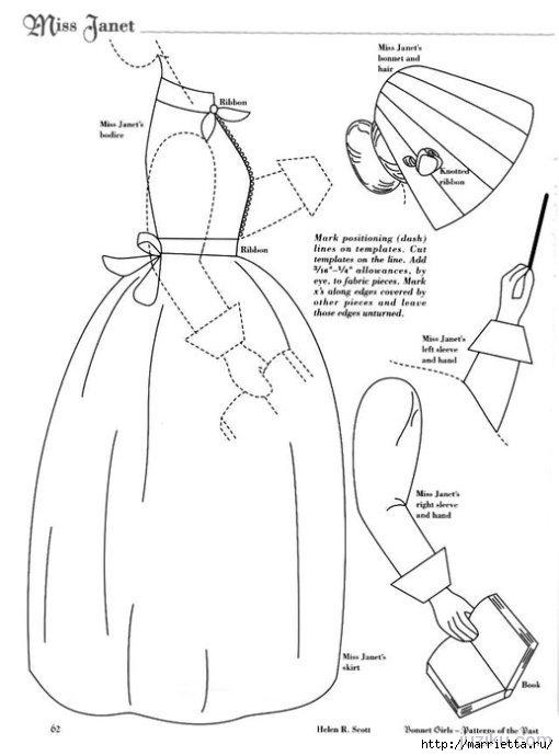Лоскутное шитье. Журнал Bonnet Girls (8) (510x690, 108Kb)