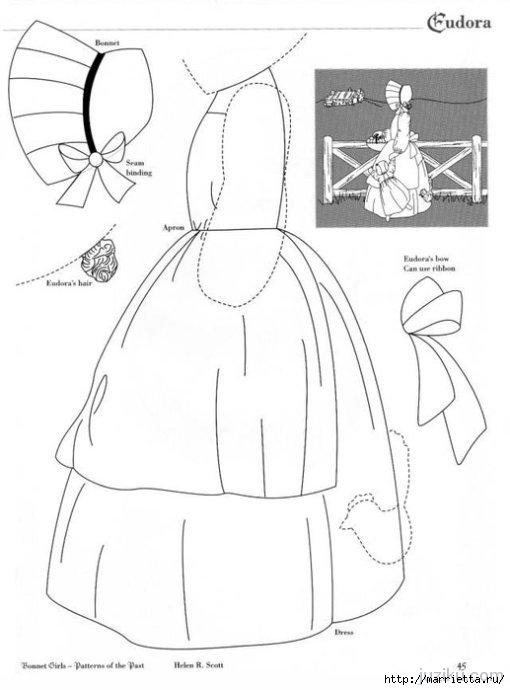 Лоскутное шитье. Журнал Bonnet Girls (10) (510x690, 104Kb)