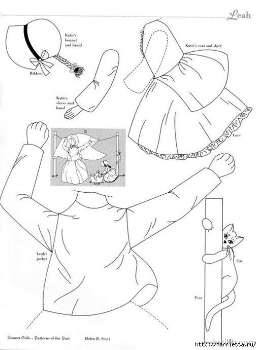 Лоскутное шитье. Журнал Bonnet Girls (14) (510x690, 110Kb)