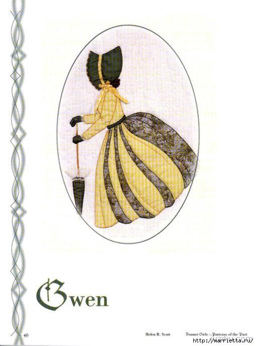 Лоскутное шитье. Журнал Bonnet Girls (17) (510x690, 132Kb)