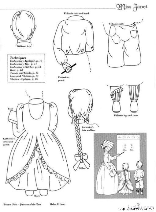Лоскутное шитье. Журнал Bonnet Girls (19) (510x690, 135Kb)