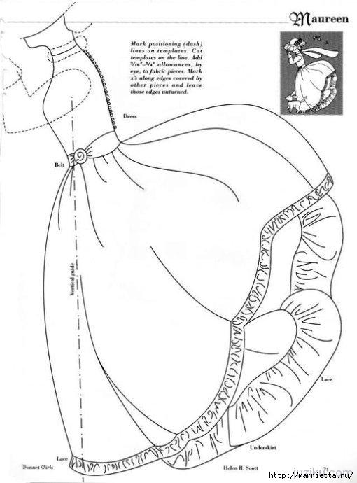 Лоскутное шитье. Журнал Bonnet Girls (25) (510x690, 125Kb)
