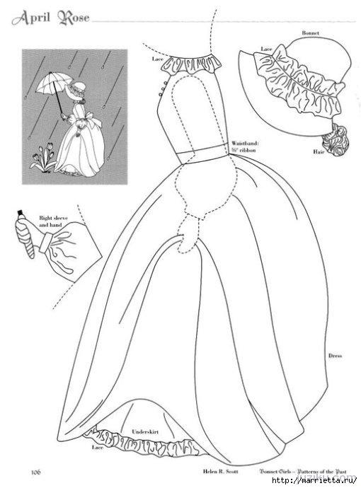 Лоскутное шитье. Журнал Bonnet Girls (29) (510x690, 112Kb)