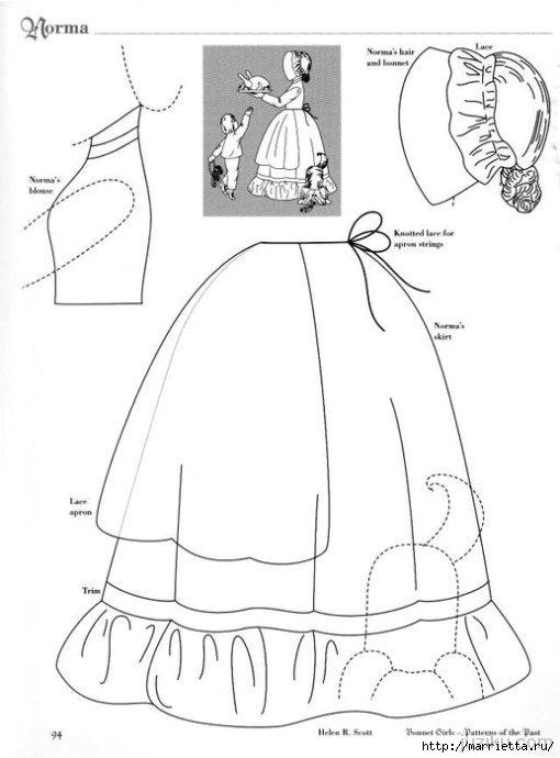 Лоскутное шитье. Журнал Bonnet Girls (33) (510x690, 105Kb)
