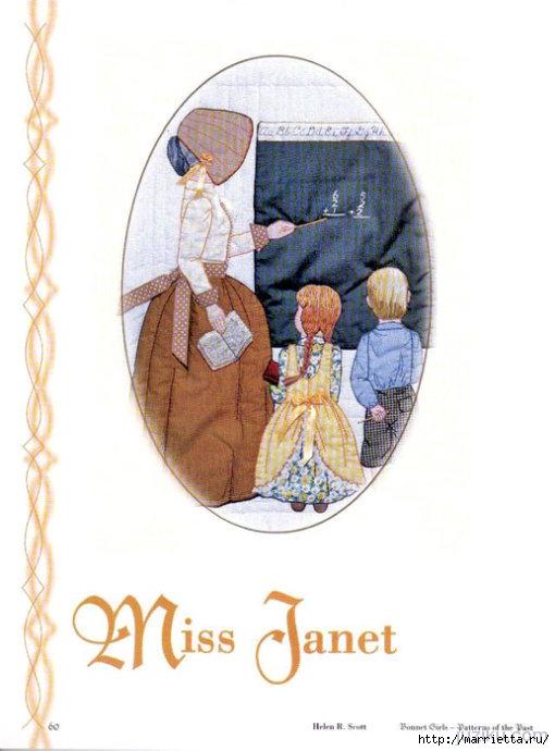 Лоскутное шитье. Журнал Bonnet Girls (46) (510x690, 144Kb)