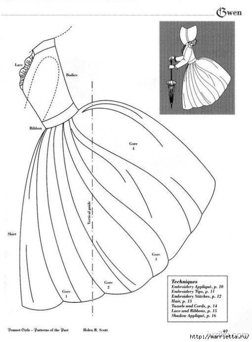 Лоскутное шитье. Журнал Bonnet Girls (55) (510x690, 114Kb)