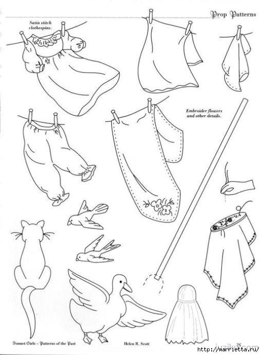 Лоскутное шитье. Журнал Bonnet Girls (59) (510x690, 127Kb)