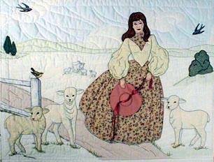Лоскутное шитье и аппликация. Журнал Bonnet Girls (16) (306x232, 104Kb)