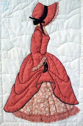 Лоскутное шитье и аппликация. Журнал Bonnet Girls (18) (288x435, 129Kb)
