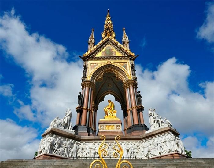 мемориал принца альберта лондон фото 1 (700x551, 241Kb)
