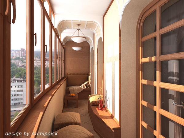Дизайн интерьера балкона обсуждение