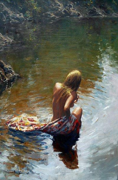 Robert Hagan 1947 - Australian Impressionist painter - Tutt'Art@ (1) (400x610, 237Kb)