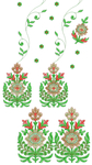 Превью Daman Type Ladies Dress embroidery design free download (392x700, 268Kb)