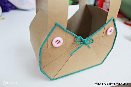 Сумочка-корзинка из картона (5) (450x300, 62Kb)