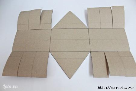 Сумочка-корзинка из картона (9) (450x300, 55Kb)