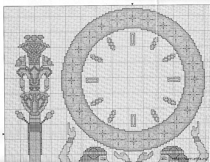 Вышивка крестом. ЧАСЫ (20) (700x538, 413Kb)