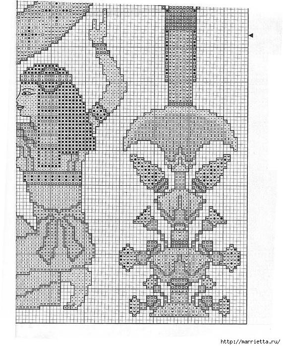 Вышивка крестом. ЧАСЫ (23) (571x700, 392Kb)