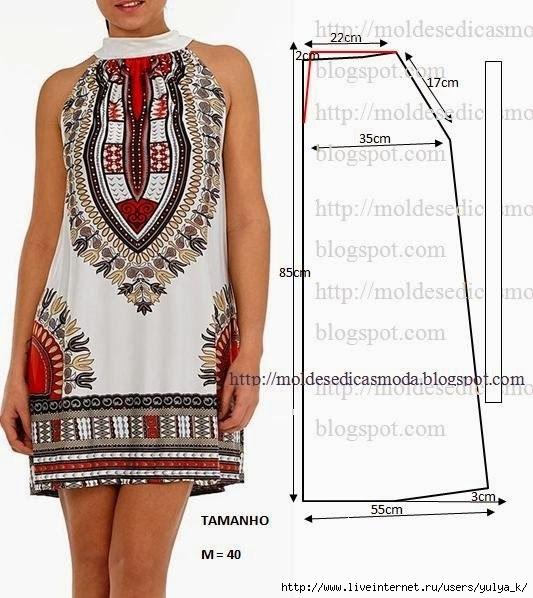 Выкройки сарафаны и легкие платья