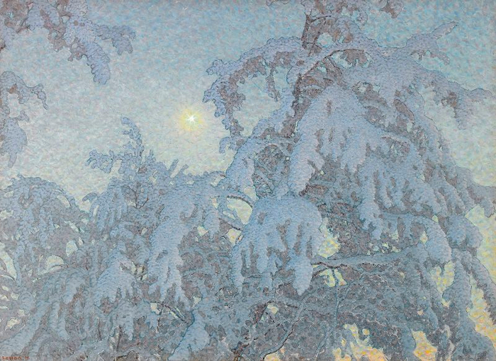 Жесткий Мороз и звезды. (700x510, 454Kb)