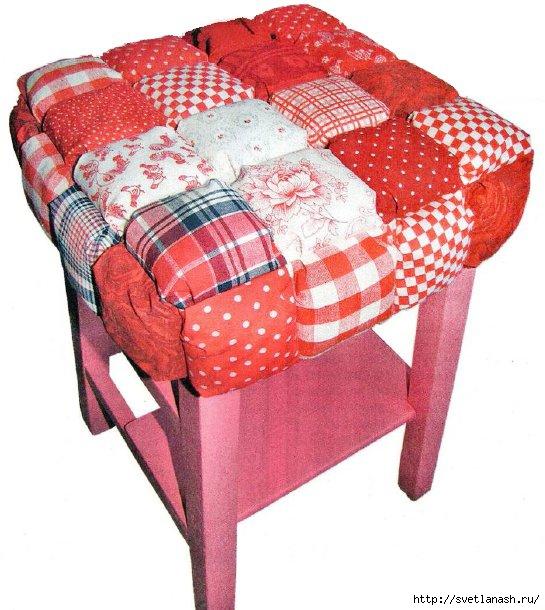 Накидки для стульев своими руками