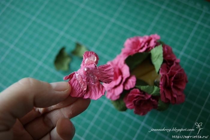Бумагопластика. Цветочки в торфяных горшочках (1) (700x466, 195Kb)