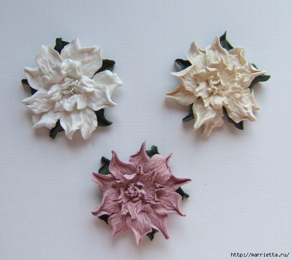Бумагопластика. Цветочки в торфяных горшочках (5) (600x534, 153Kb)